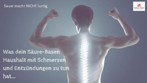 Was dein Säure-Basen-Haushalt mit Faszien-(Rücken-)Schmerzen zu tun haben kann