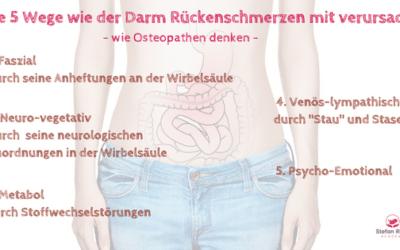 Darm ohne Charme – Rückenschmerzen und dein Darm