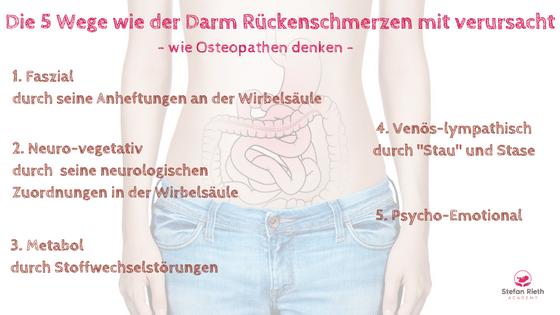Darm ohne Charme - Rückenschmerzen und dein Darm - Stefan Rieth ACADEMY
