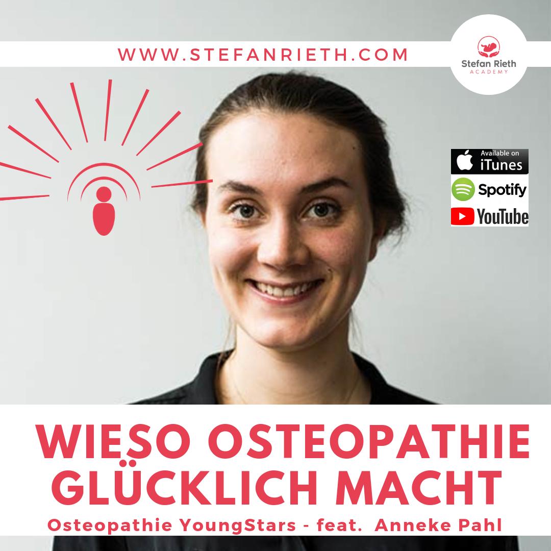 WIESO OSTEOPATHIE GLÜCKLICH MACHT –  feat. Anneke Pahl
