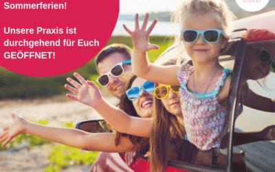 Öffnungszeiten in den bayrischen Sommerferien