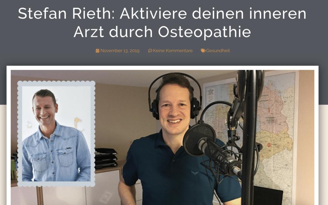 Aktiviere deinen Inneren Arzt mit Osteopathie