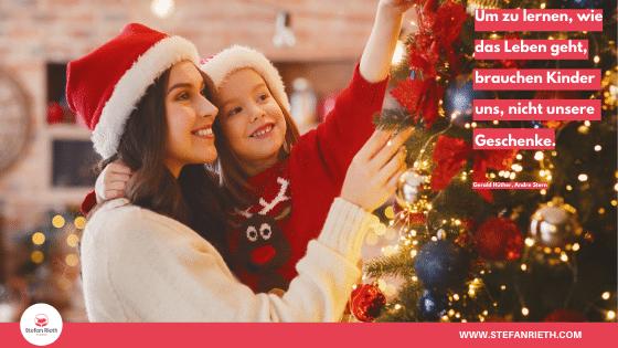 Was schenken wir unseren Kindern zu Weihnachten?