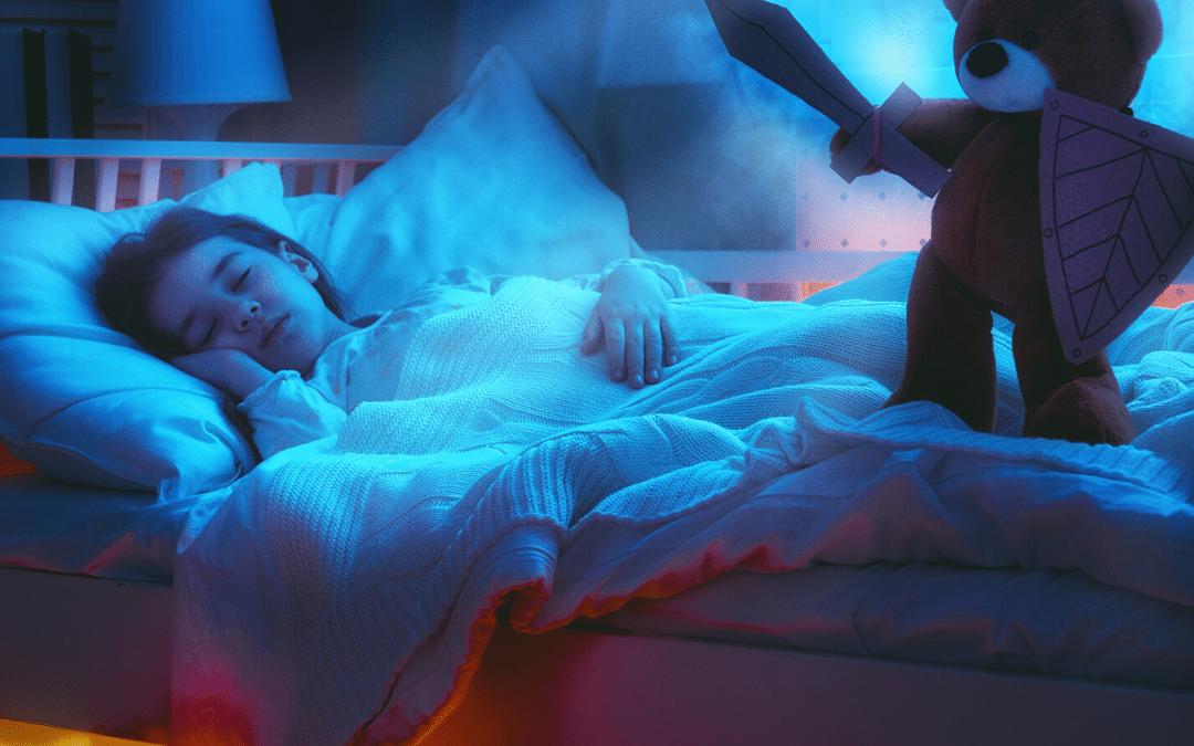 Nacht-Alp, Pavor Nocturnus, der Nacht Schreck bei Kindern