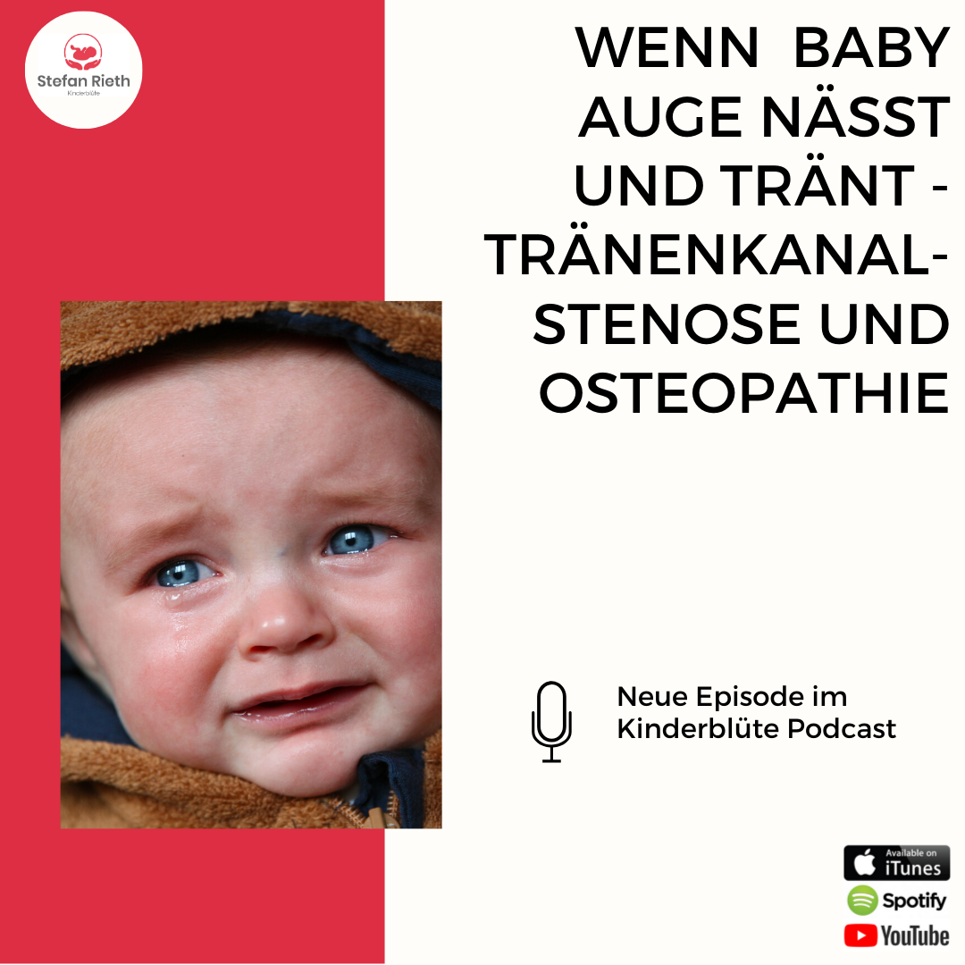 WAS TUN WENN BABY AUGE NÄSSST UND TRÄNT?