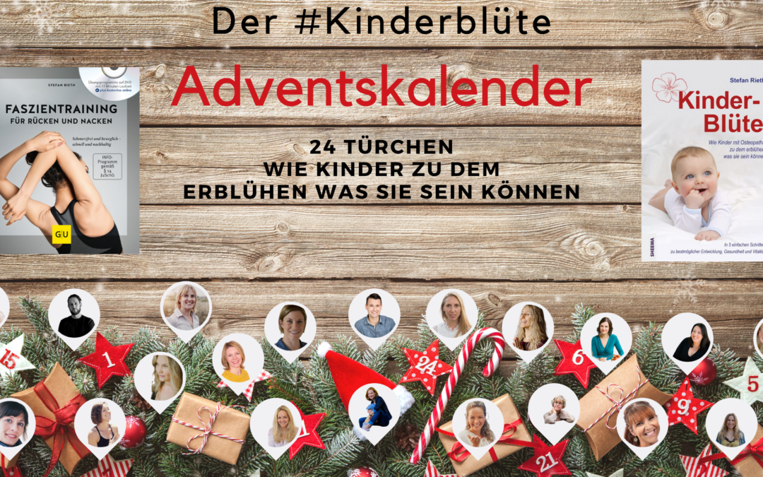 DER #KINDERBLÜTE ADVENTSKALENDER