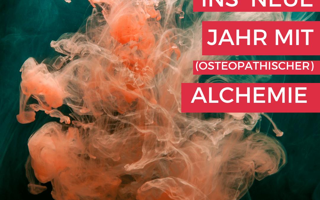 KRAFTVOLL INS NEUE JAHR  -#Kinderblüte Alchemie