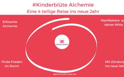 Starte mit #Kinderblüte Alchemie ins neue Jahr