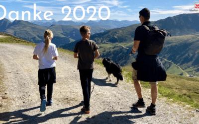 Danke 2020, by bye #Kinderblüte und Hallo #Auftriebskraft 2021