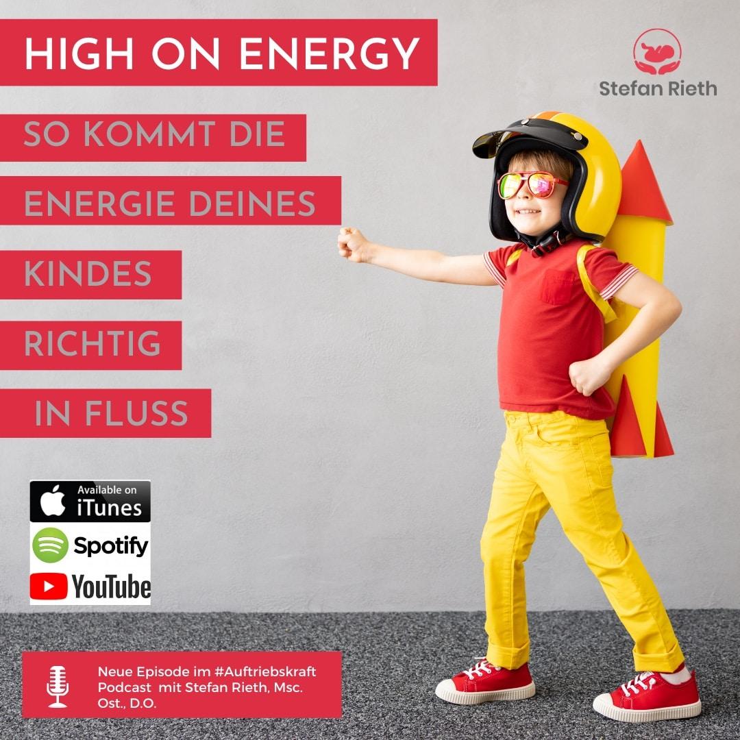 High on Energy? So kommt die Energie deines Kindes richtig in Fluss